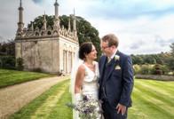 Burghley House wedding
