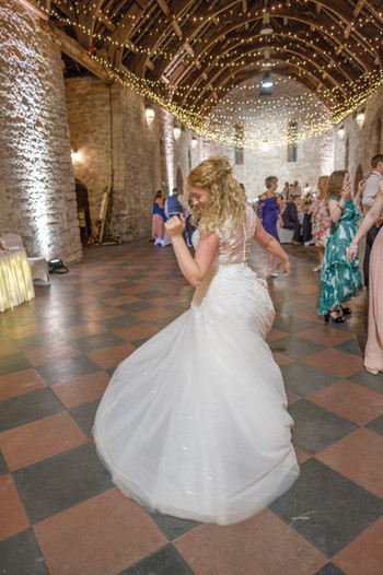Bride dancer