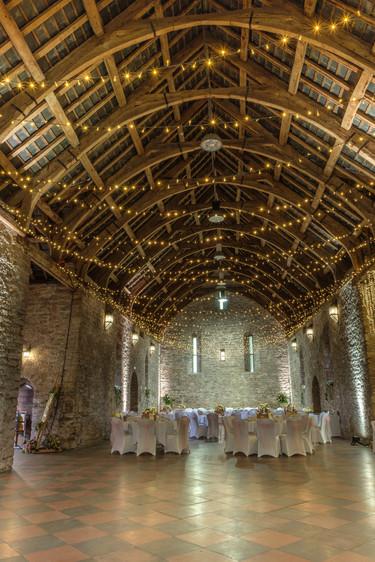 Wedding layout Spanish Barn