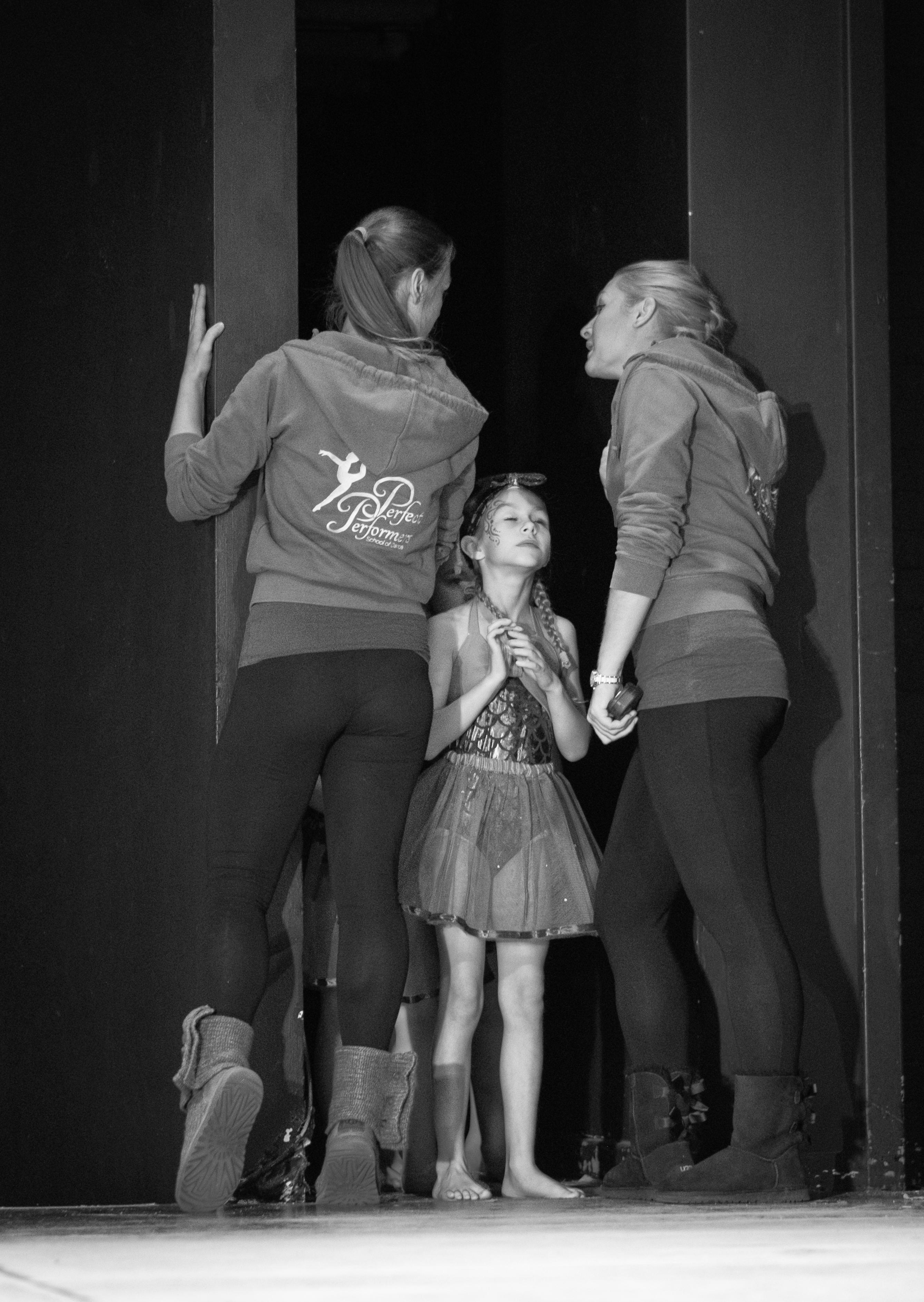 Dance rehearsal day