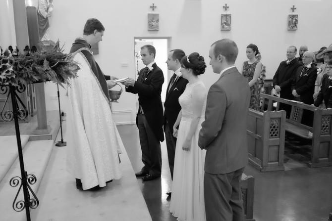 Yet another wet wedding!