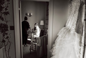 The George bridal prep
