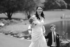 Bride arival Normanton