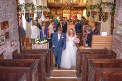 Wedding walk down
