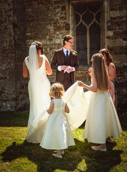 Thorpe Malsor wedding