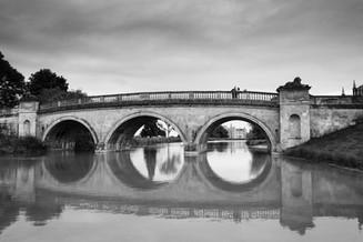 Lion Bridge at Burghley House