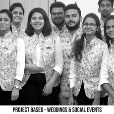 PROJECT BASED - WEDDINGS & SOCIAL EVENTS
