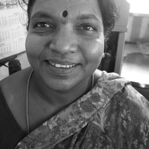 """💌 """"My entire family works in this stall and sells tea and snacks all day. I have three daughters and a son, and I've made sure all our kids are well educated. Never once did I feel that only our son should study further. Each child needs equal education."""""""