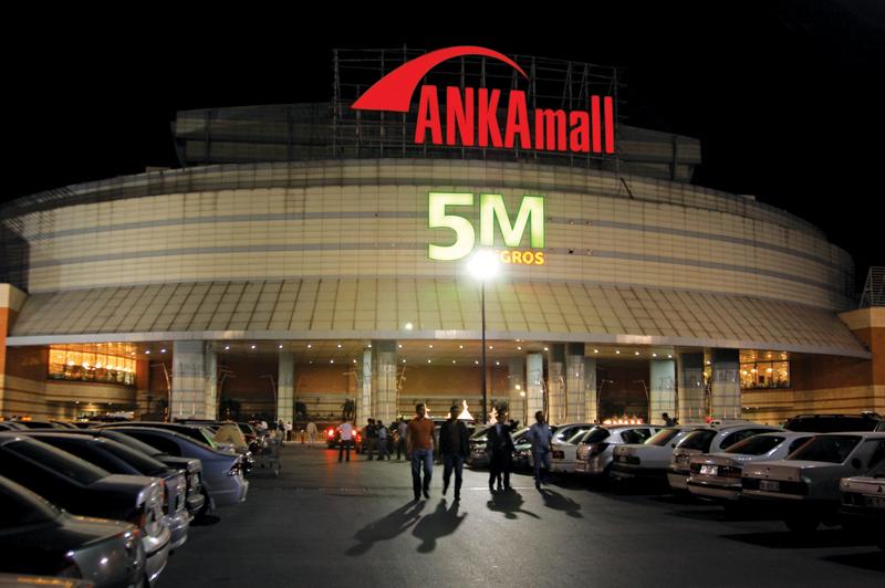 Ankamall - Signboards