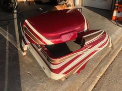 Custom Painted Motorhome Themed Golf Cart Body