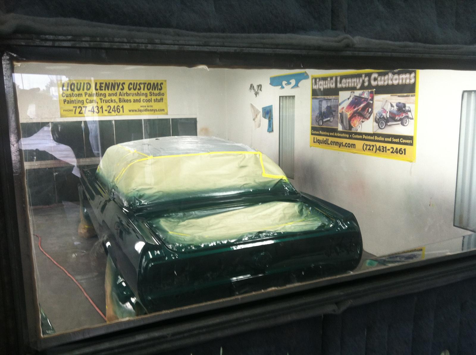 Fullscreen Page | Custom Golf Cart Body | Liquid Lenny's