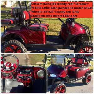 candy red custom golf cart car.JPG