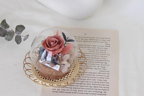 Mini Preserved Flower in Sphere (Afternoon Tea)