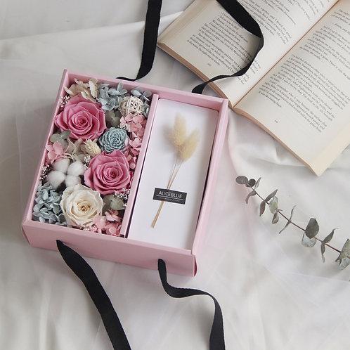Preserved Flower Gift Box (Pastel)