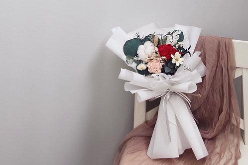 Petite Preserved Flower Bouquet - Daylight Prairie