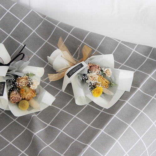 Mini Assorted Bouquet (Yellow - Beige)