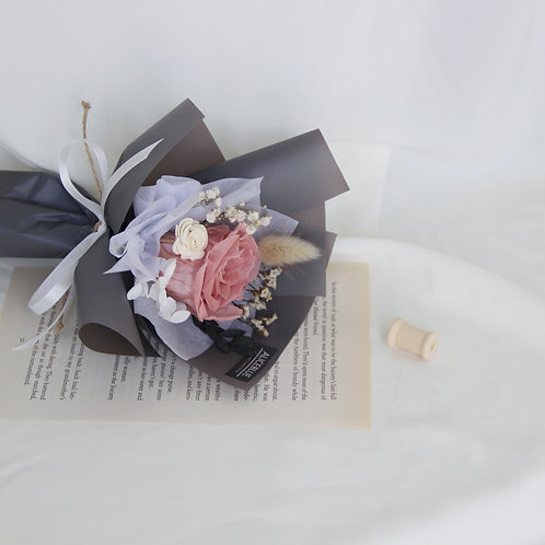 Mini Preserved Flower Bouquet - Donut