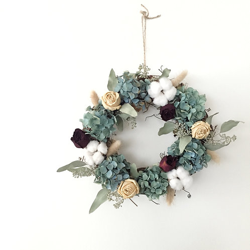 Dried Flower Wall Hangings (Wreath)