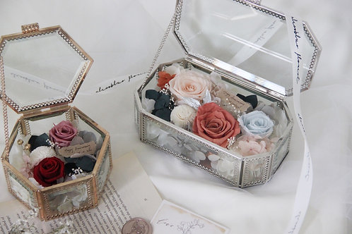 Standard Preserved Flower in Jewellery Box - Scenic Orchard