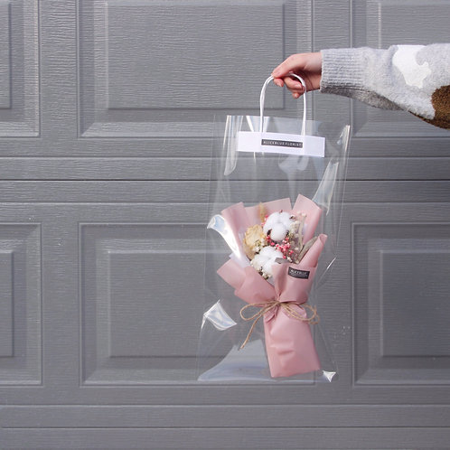 Petite Dried Flower Bouquet in Bag (Sakura)