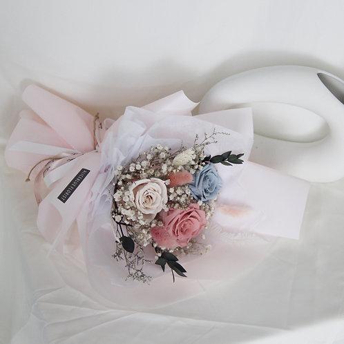 Standard Preserved Flower Bouquet (Candy Cloud)
