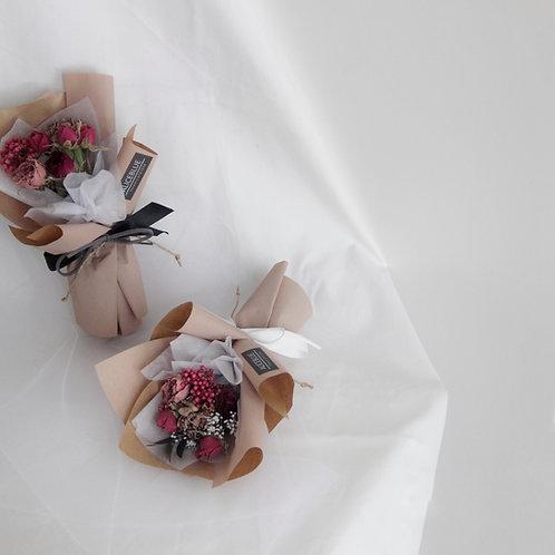 Mini Assorted Bouquet (Hot Pink - Milk Tea)