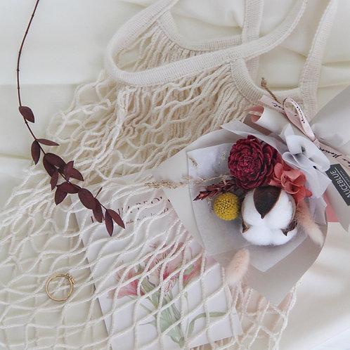 Mini PreservedFlower Bouquet - Pokey Heart