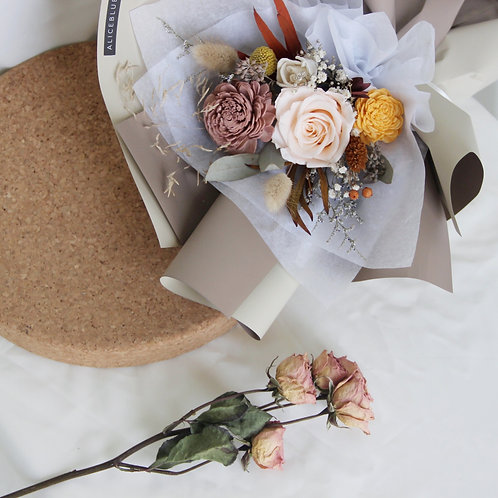 Standard Preserved Flower Bouquet - Chestnut's Treasure