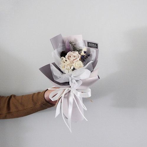 Mini Preserved Flower Bouquet - Lavender Romance