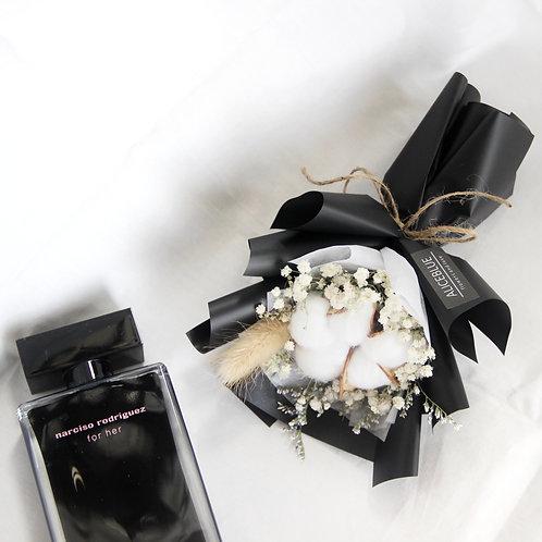 Classic Mini Cotton Bouquet (Black)