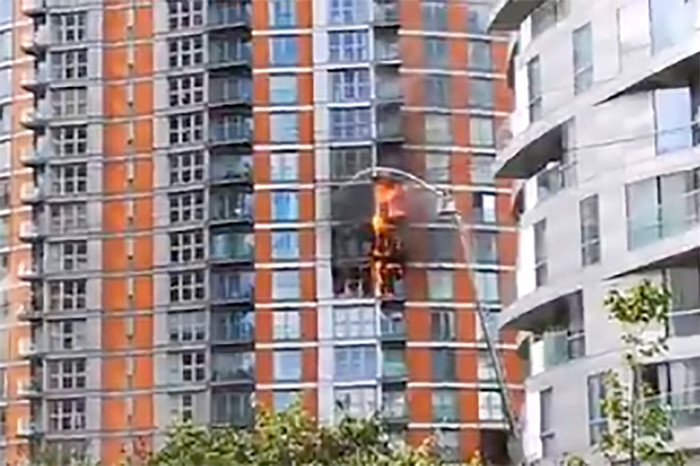 Addressing the fire safety regulations
