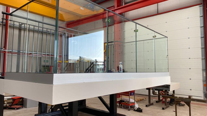 Alloy Fabweld launch new SQS Fast-attaching Lightweight balcony system