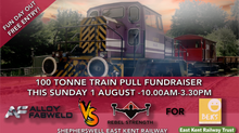 OUR TEAMS COMPETE IN 100 TONNE TRAIN PULL