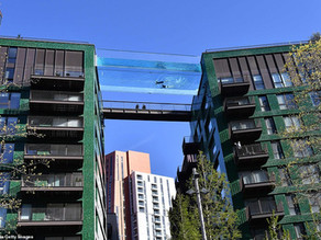 A Sky Pool... but what about the balconies?