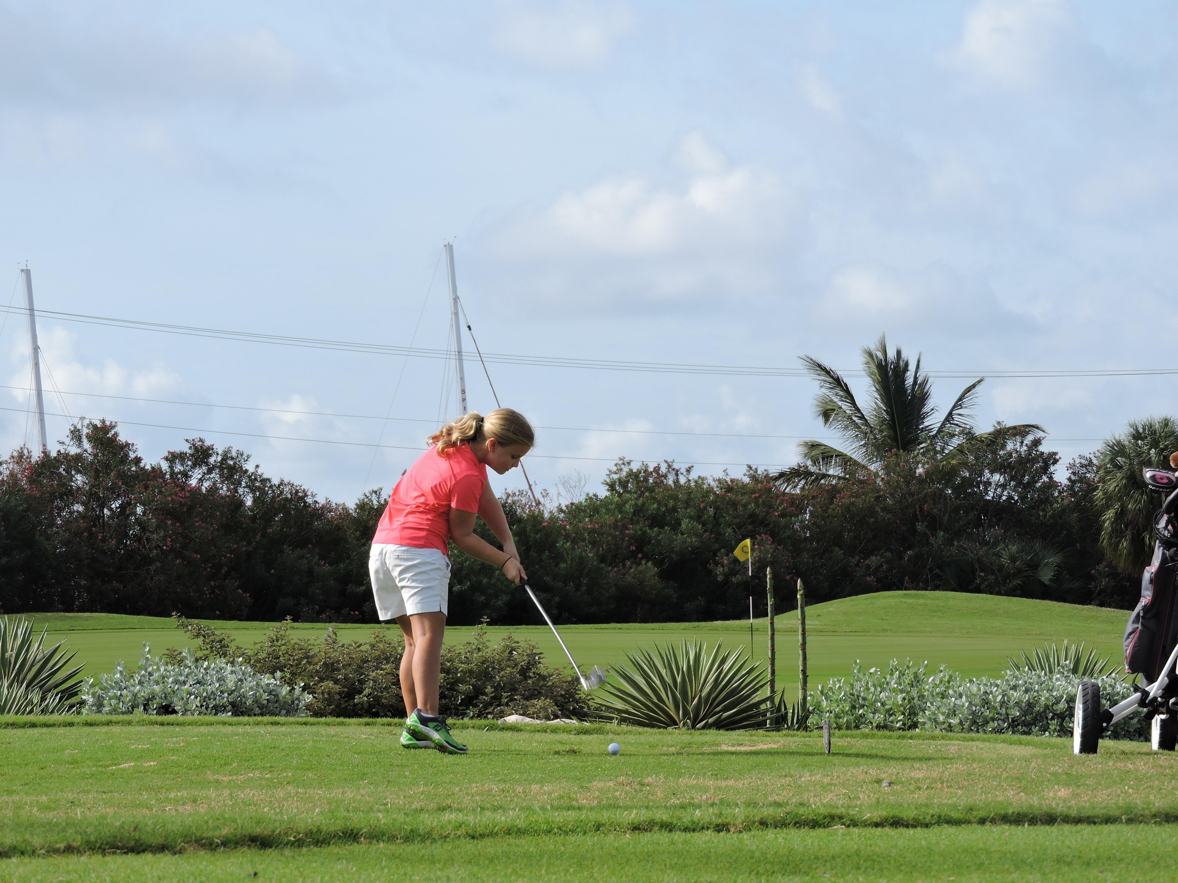 Lauren Needham - 1st hole