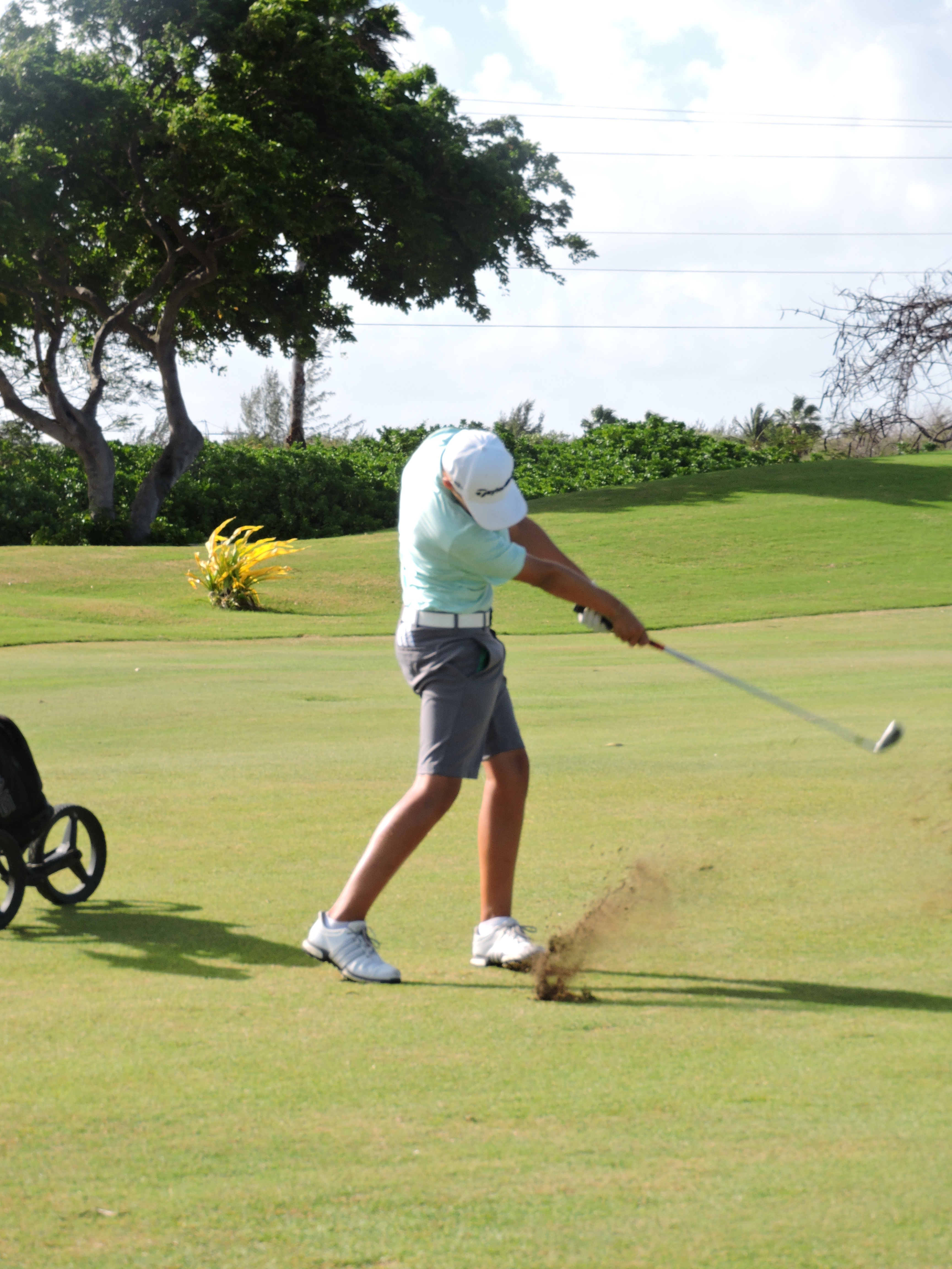 Aaron Jarvis - 3rd hole