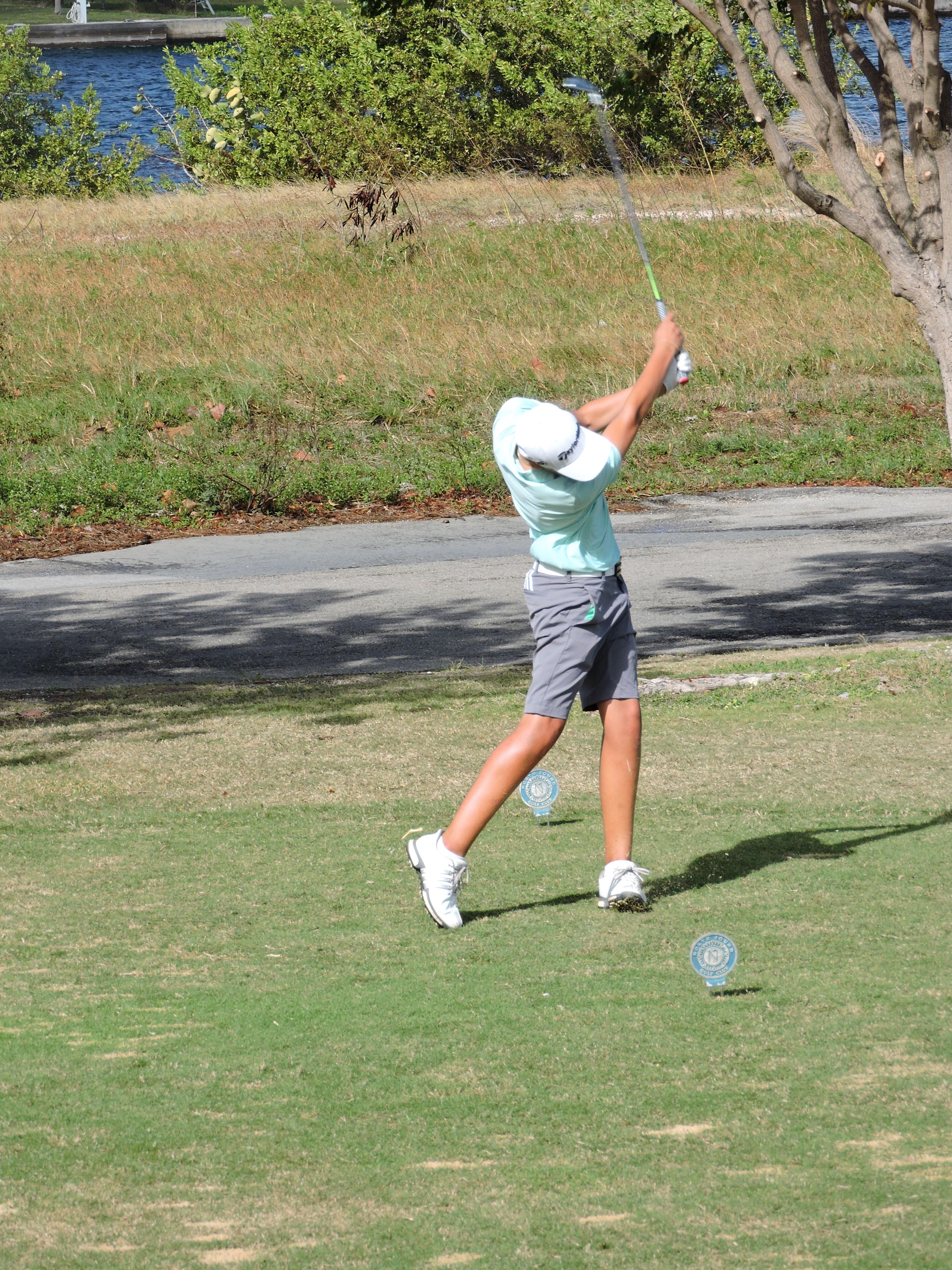 Aaron Jarvis - 5th hole