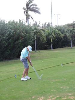 Aaron Jarvis - 1st hole