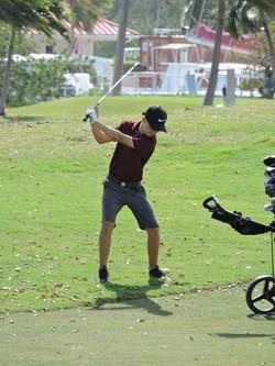 Derek Peene - 8th hole