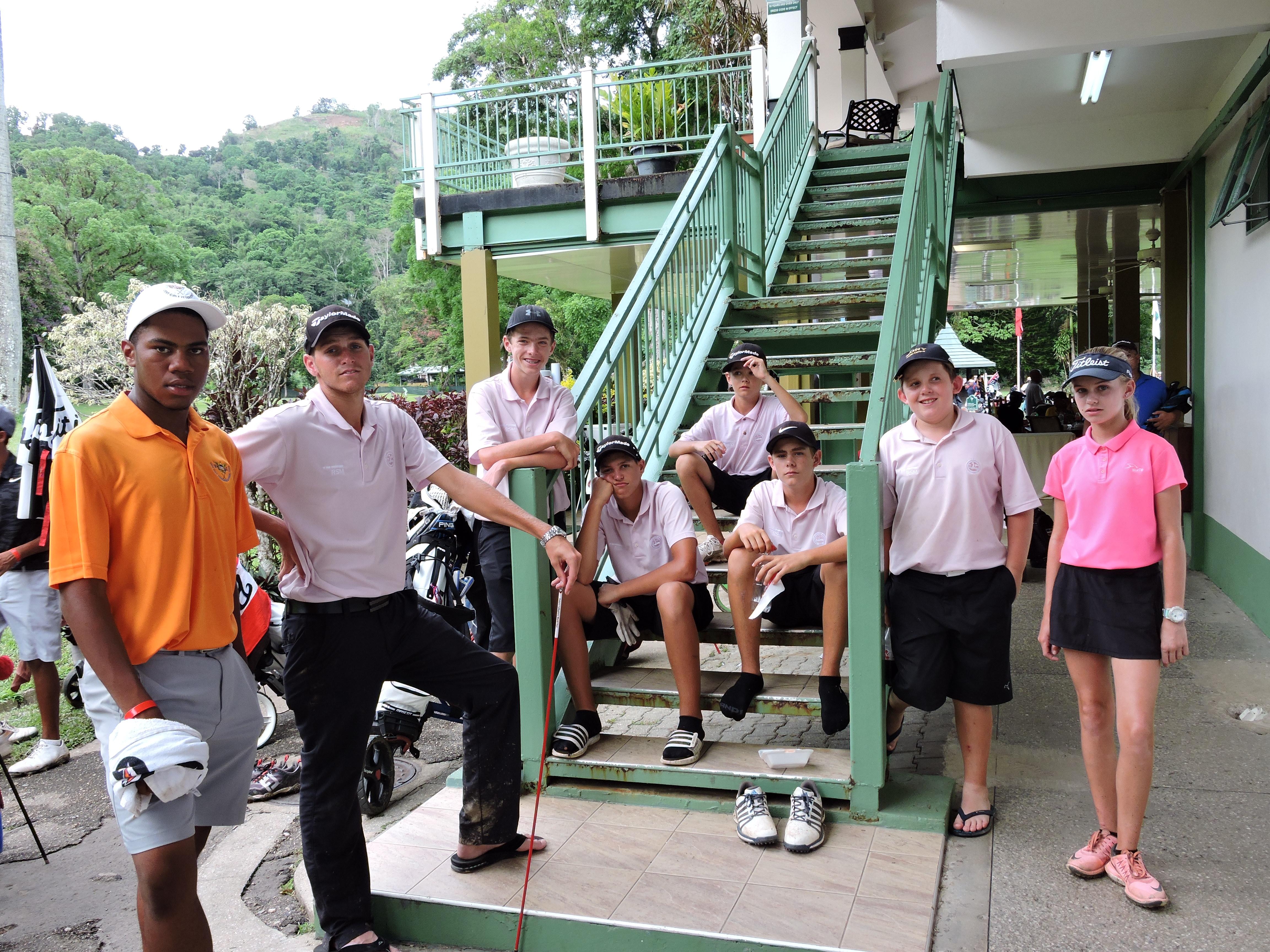 Team Cayman - 2017 CAJGC Trinidad