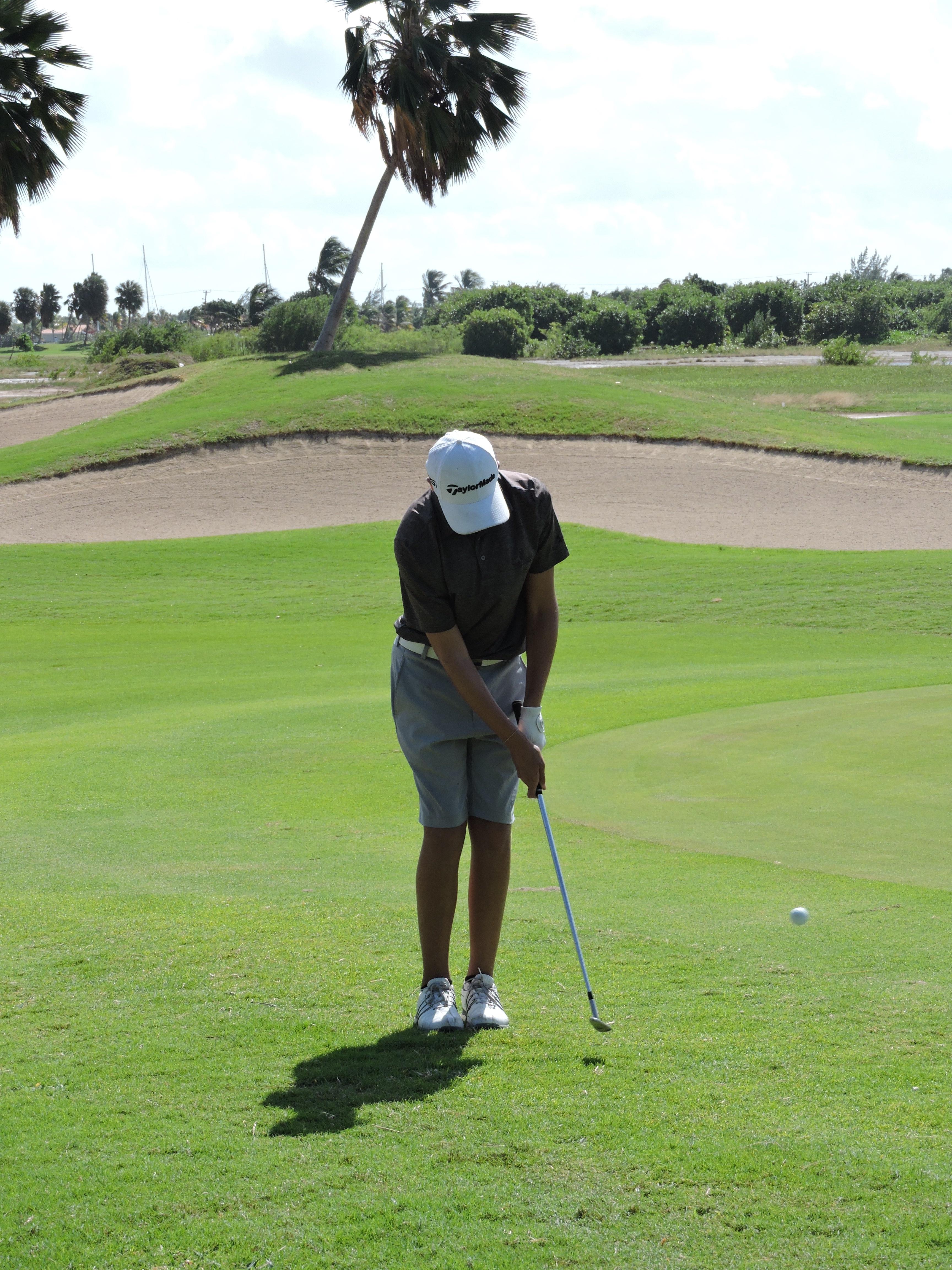Aaron Jarvis - 14th hole
