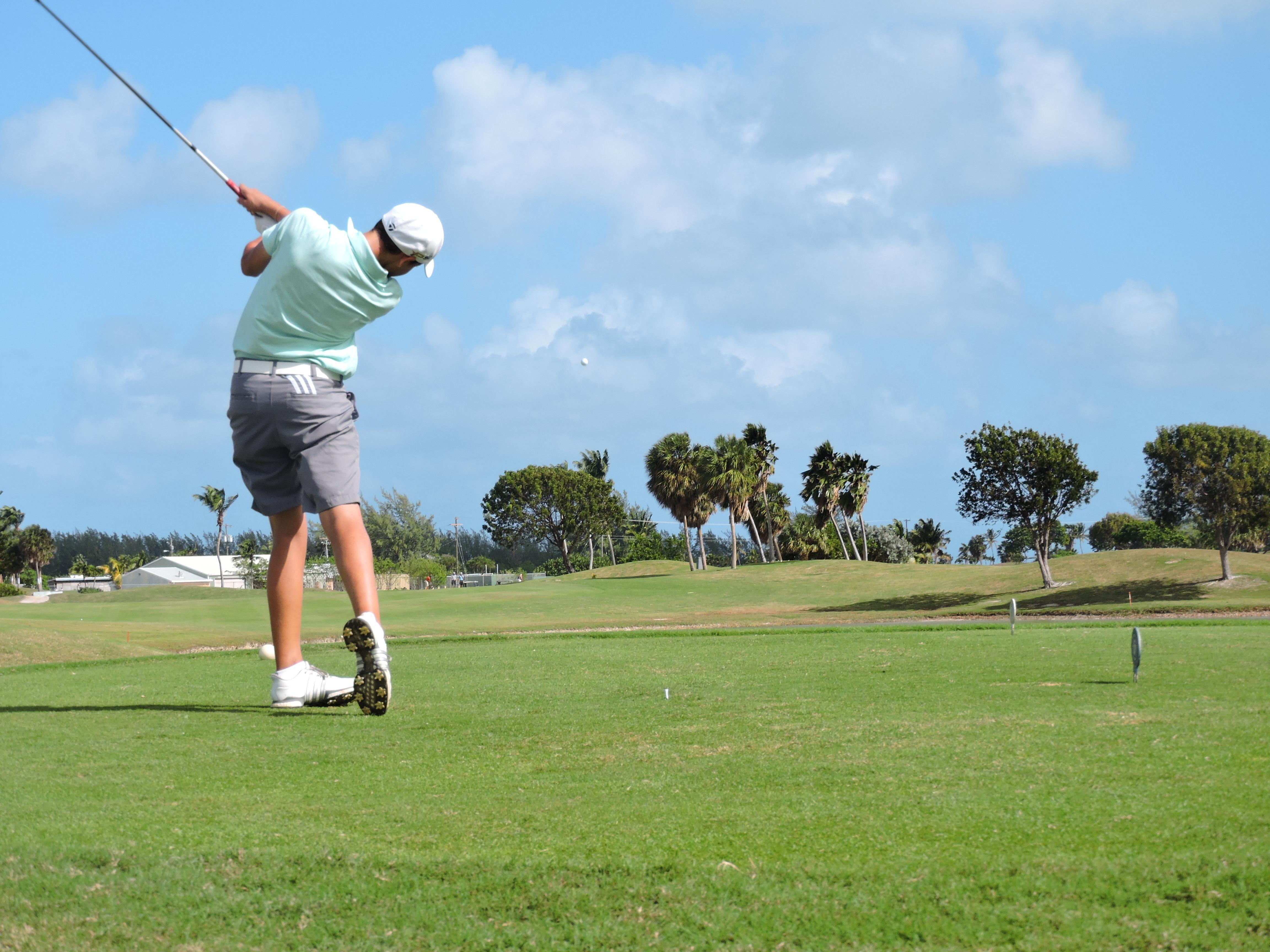 Aaron Jarvis - 7th hole