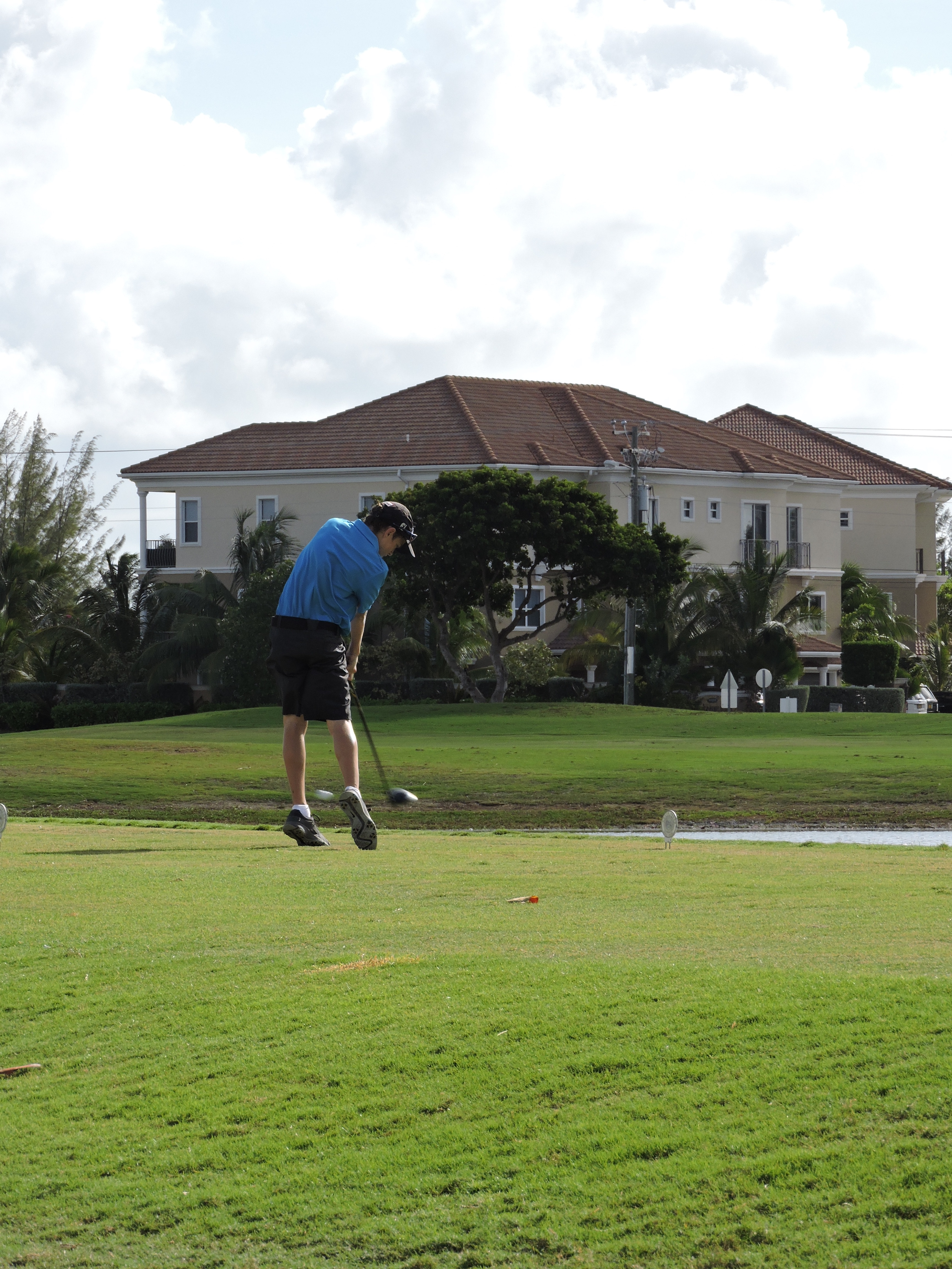 Justin Hastings - 4th hole
