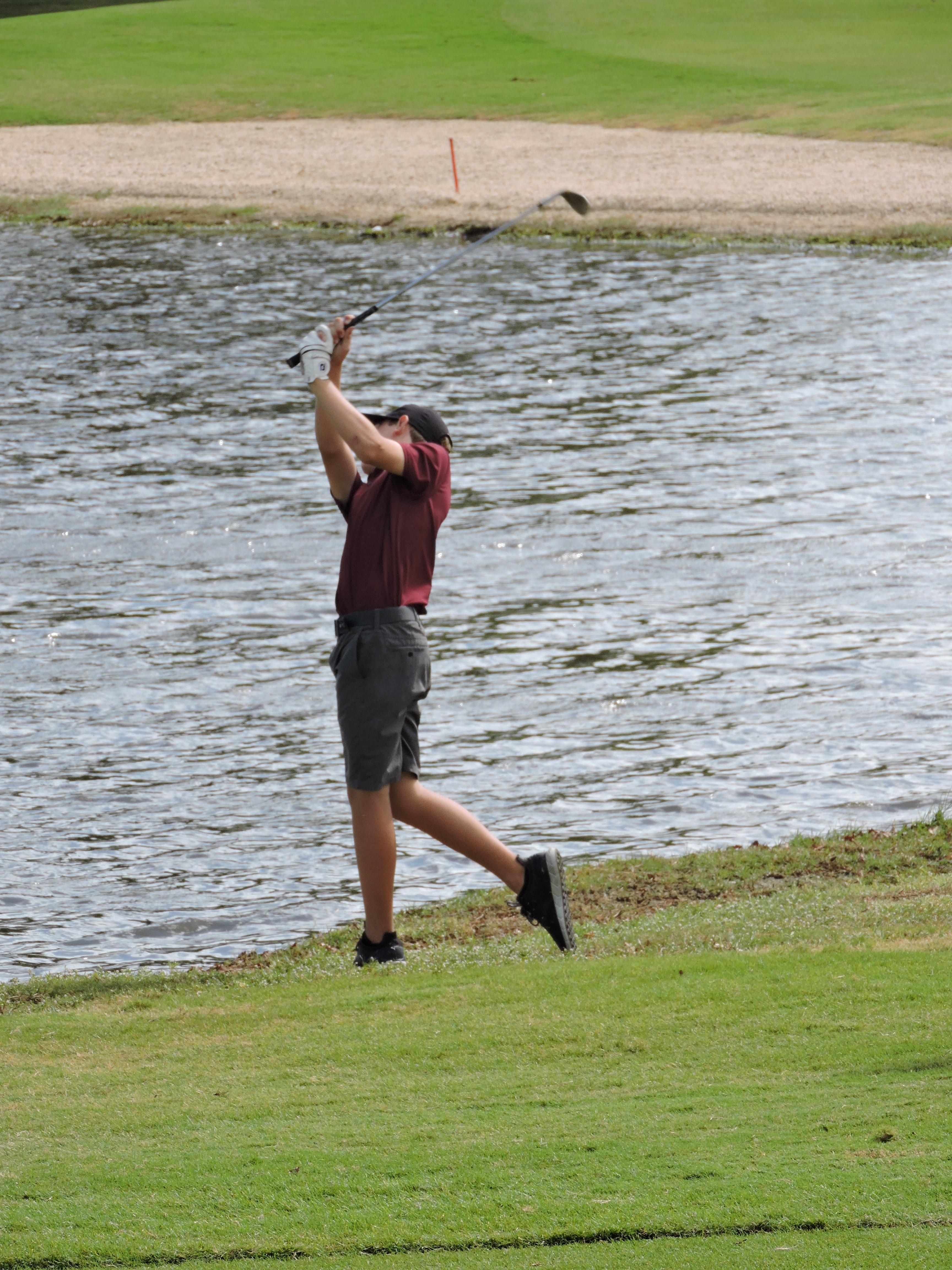 Derek Peene - 7th hole