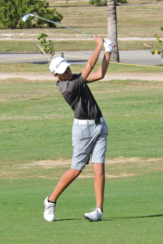 Aaron Jarvis - 4th hole
