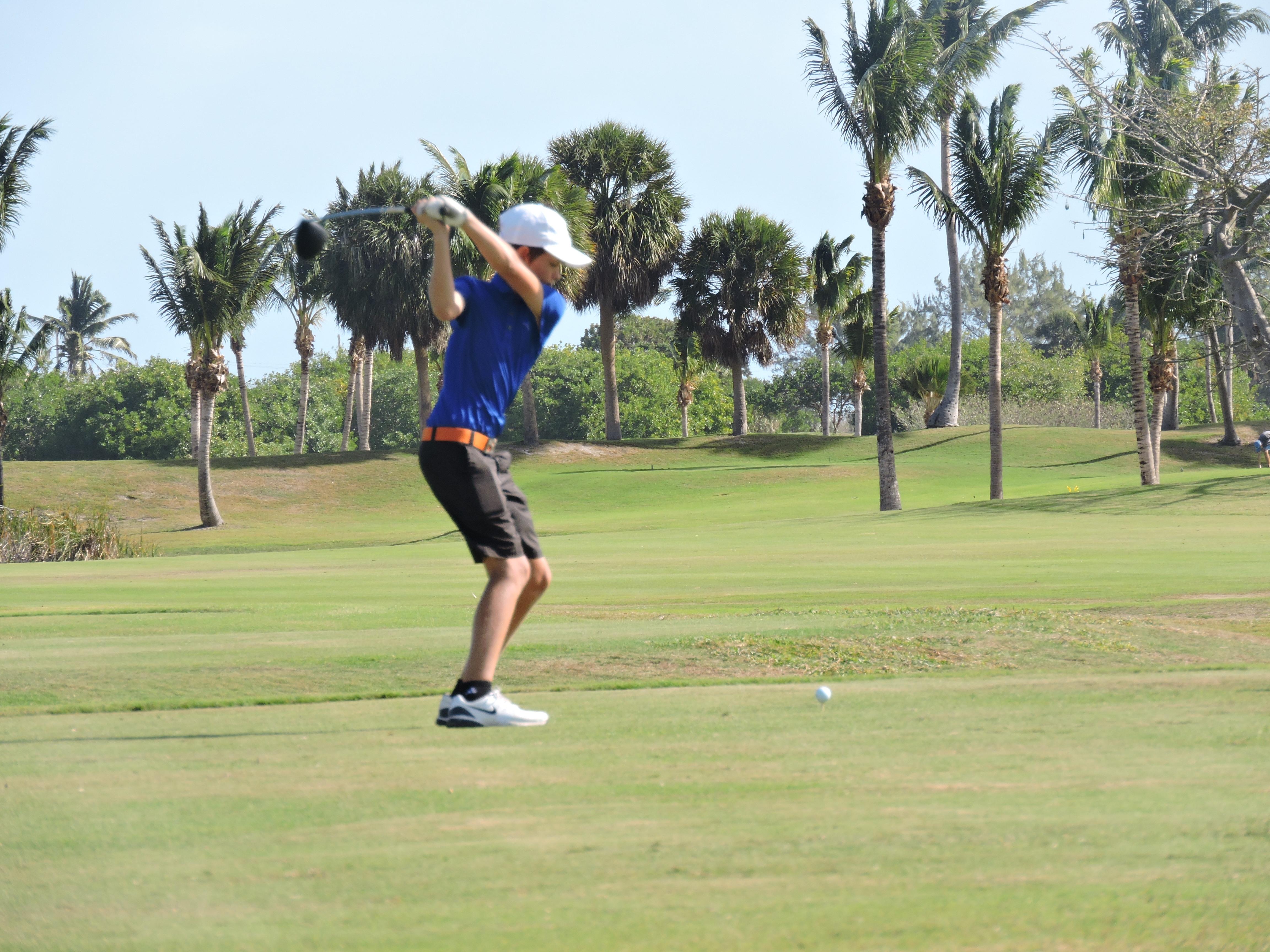 Todd Purton - 4th hole
