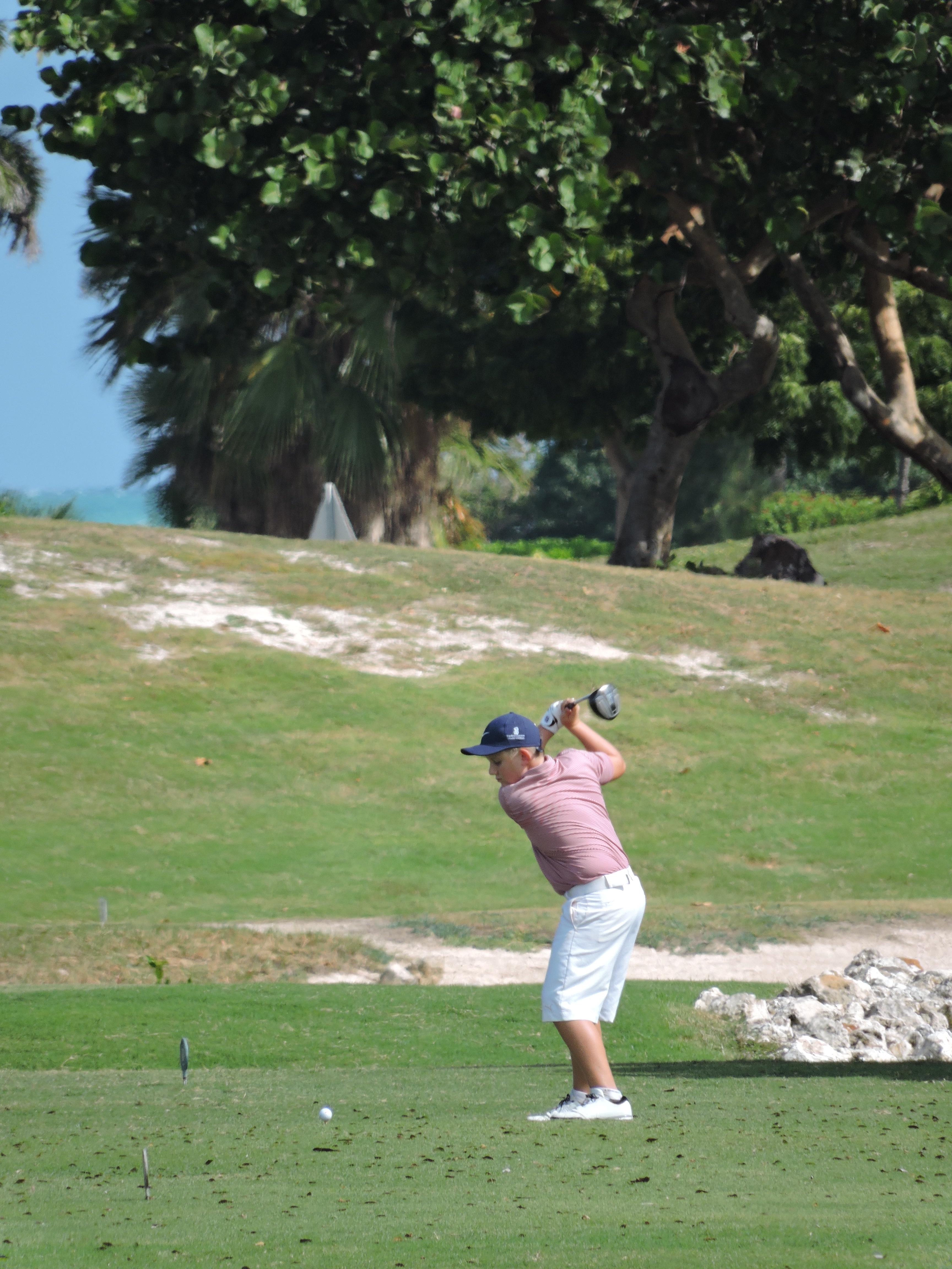 James Bould - 8th hole
