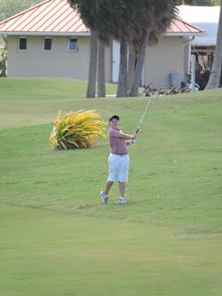 James Bould - 10th hole