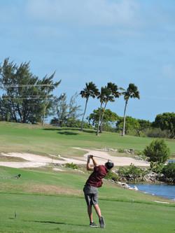 Derek Peene - 18th hole