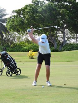Joe Purton - 3rd hole